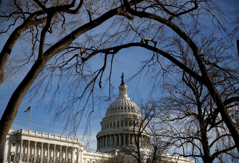 Capitol, trụ sở Quốc Hội Mỹ ngày 20/01/2018.