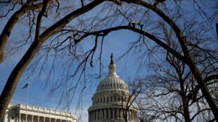 Capitol, trụ sở Quốc Hội Mỹ, Washington DC. Ảnh chụp ngày 20/01/2018.