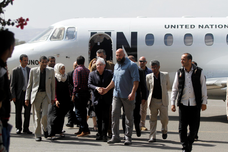Emissário da ONU Martin Griffiths chegou ao Iémen para relançar esforços de paz. 21/11/18