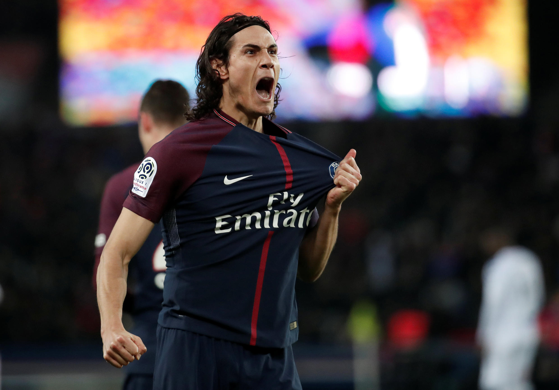 Edinson Cavani sera l'un des principaux dangers côté parisien face au Real Madrid en Ligue des champions le 6 mars 2018.