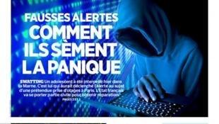 Capa do jornal francês Aujourd'hui en France desta terça-feira (20).