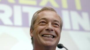 Nigel Farage revient aux commandes de l'Ukip quelques mois après sa démission.