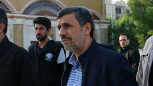 محمود احمدینژاد در بوشهر