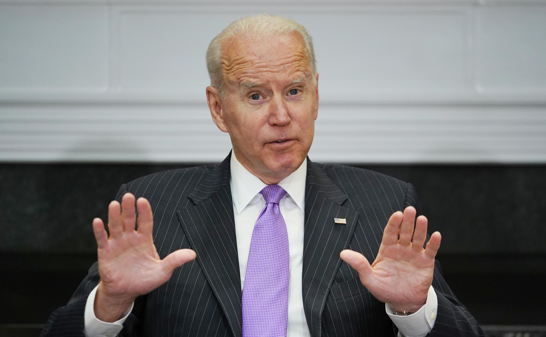 El presidente de EEUU Joe Biden en la Casa Blanca, el 22 de junio de 2021