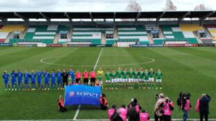 Les footballeuses irlandaises de retour sur le terrain.
