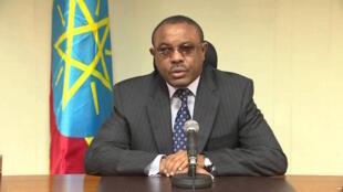 Waziri mkuu wa Ethiopia, Hailemariam Desalegn.