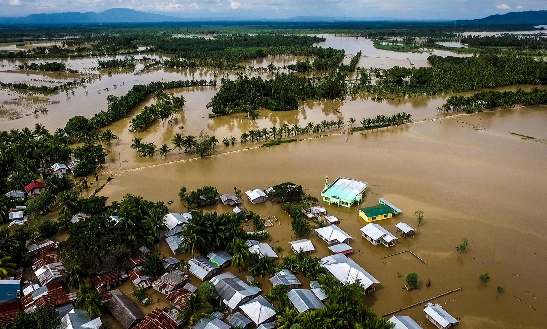 菲律賓棉蘭老島洪災區2017年12月23日