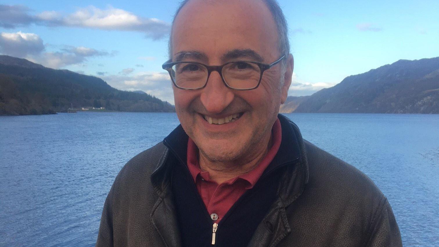 Portrait d'Éric Halphen qui publie «La faiblesse du maillon», aux éditions Rivages
