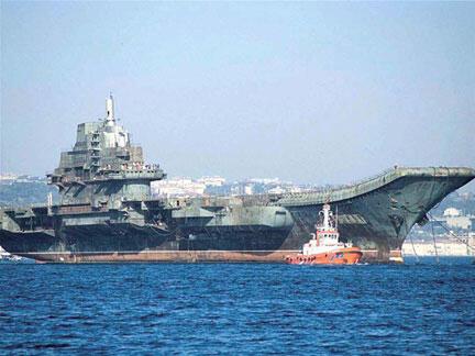 Hàng không mẫu hạm đầu tiên của Trung Quốc được hạ thủy vào tháng 08/2011 nhằm mục tiêu phô trương uy lực.