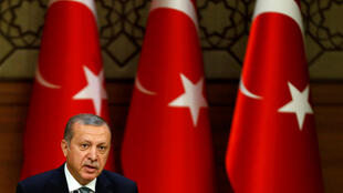 Recep Tayyip Erdogan, el presidente turco.