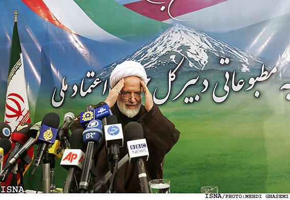 مهدی کروبی بار دیگر خواستار کنارهگیری از دبیرکلی حزب اعتماد ملی شد