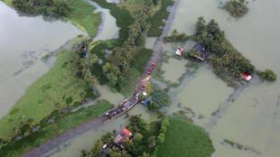 Garin Kerala da ambaliyar ruwan India ya shafa