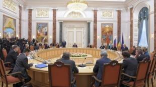 Переговоры в Минске 26 августа