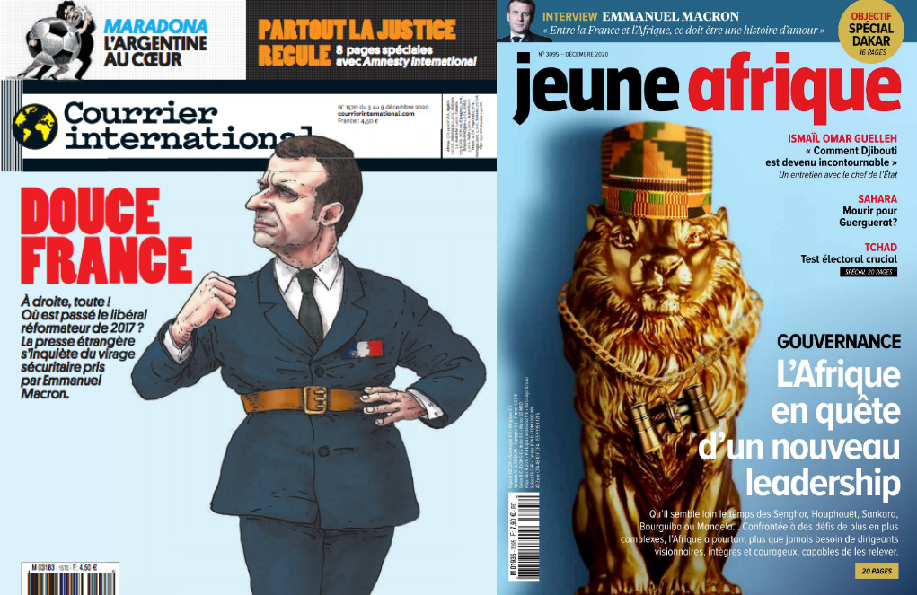 Capas de revistas.