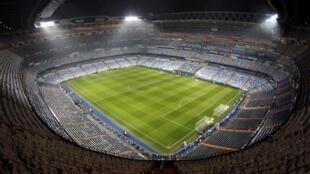 Filin wasan Bernabeu  na Kungiyar Real Madrid.