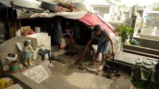 Le cimetière de Manille