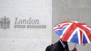 富時羅素母公司倫敦證券交易所集團標識資料圖片