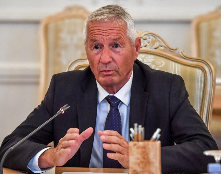 تُربیورن یاگلند دبیر کل شورای اروپا و عضو کمیتۀ اعطای جایزۀ نوبل صلح