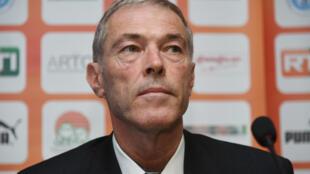Michel Dussuyer, l'entraîneur de l'équipe du Bénin.