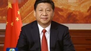 中国国家主席习近平12月31日发表新年贺词