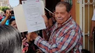El alcalde electo de Buenavista, Eliseo Delgado.