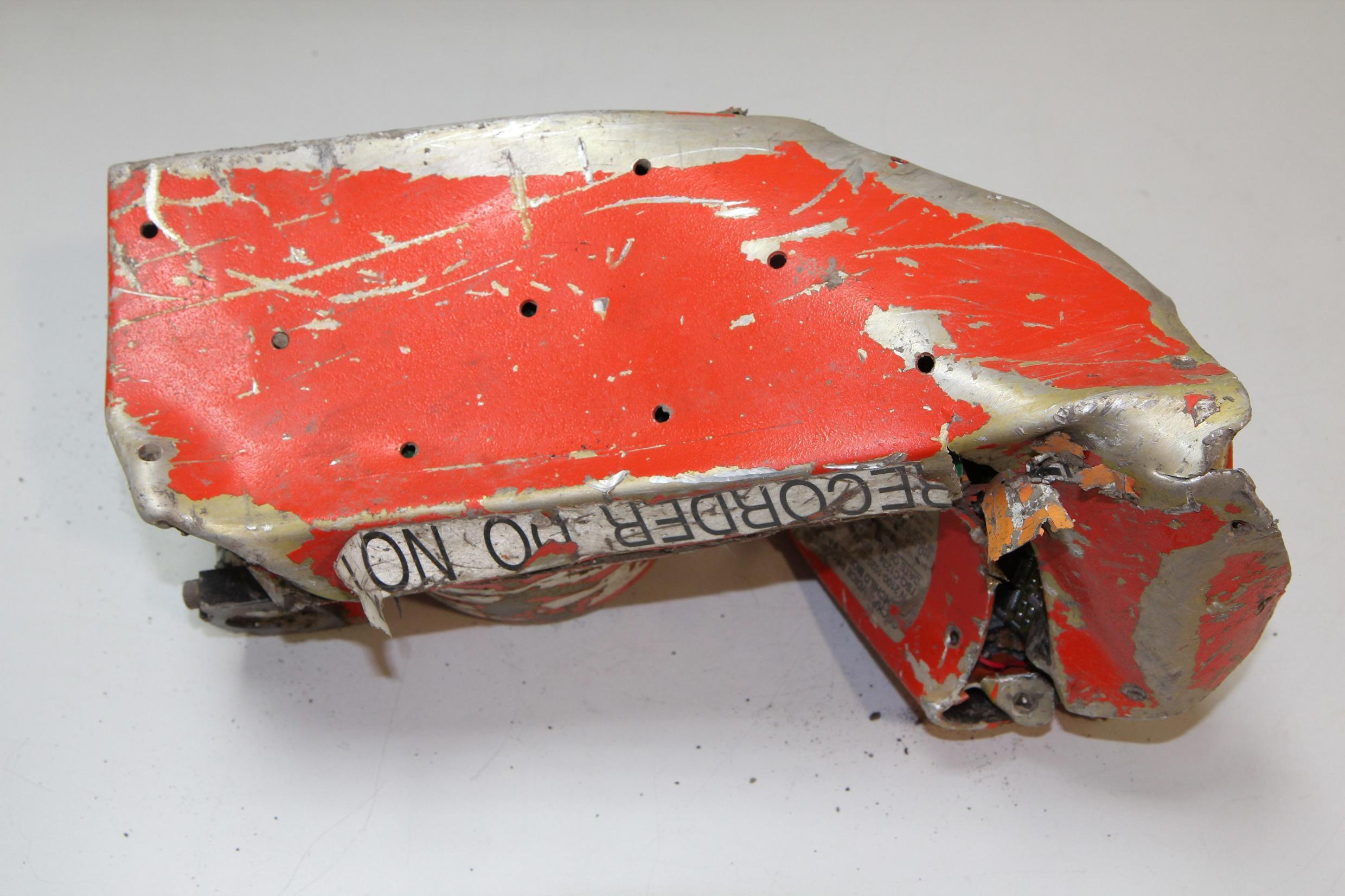 One of the Germanwings A320's flight recorders