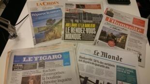 Diários franceses 27.10.2016