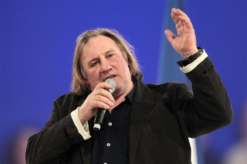 Gérard Depardieu, tài tử điện ảnh gạo cội của Pháp.