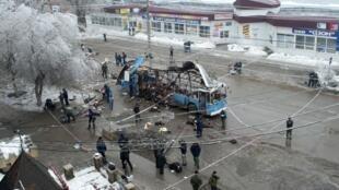Pelo menos 14 pessoas morreram em um atentado em Volgogrado, na Rússia, nesta segunda-feira.