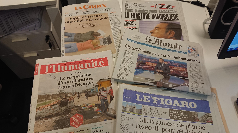 Diários franceses  08.01.2019