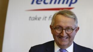 Le PDG de Technip, Thierry Pilenko, va quitter ses fonctions le 1er mai 2019.