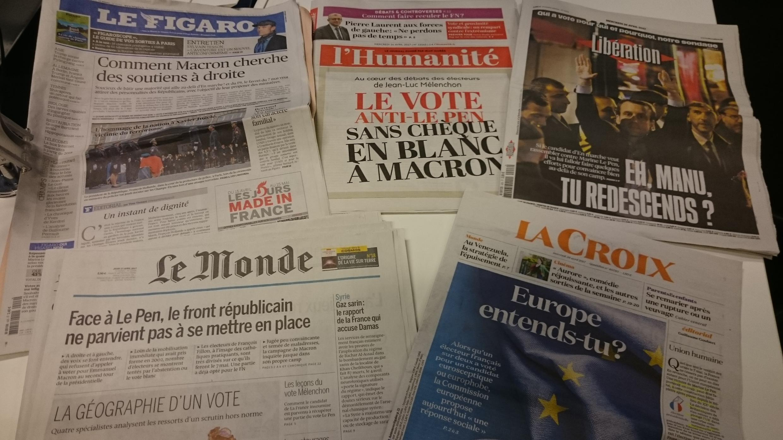 Diários franceses 26.04.2017