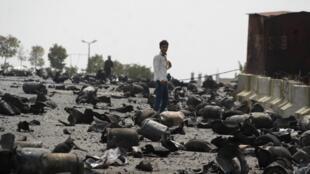 Confrontos intensificam-se em Taez, Iémen.