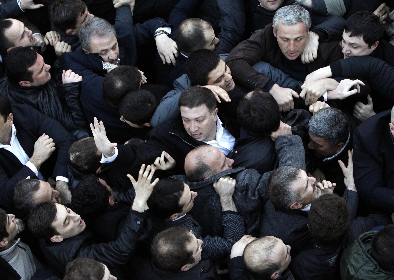 Грузия, 9 февраля 2013 год