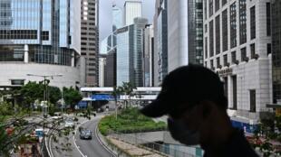 香港中心城区2020年7月9日