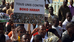 Manifestation à Niamey contre Boko Haram, le 17 février 2015.
