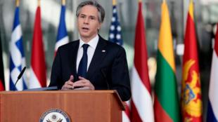 Antony Blinken / Le chef de la diplomatie US en visite à l'OTAN