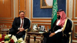 O secretário de Estado americano, Mike Pompeo, se reuniu nesta terça-feira em Riade com o príncipe Mohammed bin Salman para falar sobre a questão do desaparecimento, há duas semanas, do jornalista Jamal Khashoggi.