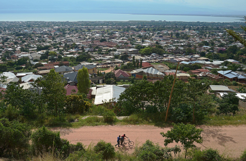 Une vue de Bujumbura, la capitale économique du Burundi.