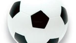 Bola redonda de futebol