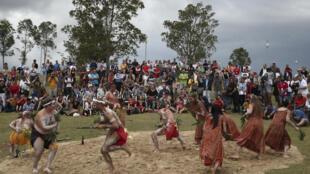 Australie_La danse des aborigènes