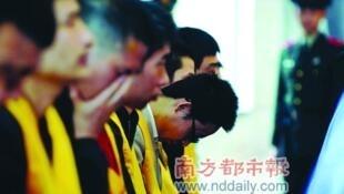des voleurs de tombes contamnés à mort dang le Hunan en chine