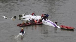 O acidente com o avião daTransAsia aconteceu na manhã desta quarta-feira (4), em Taipei, capital de Taiwan.