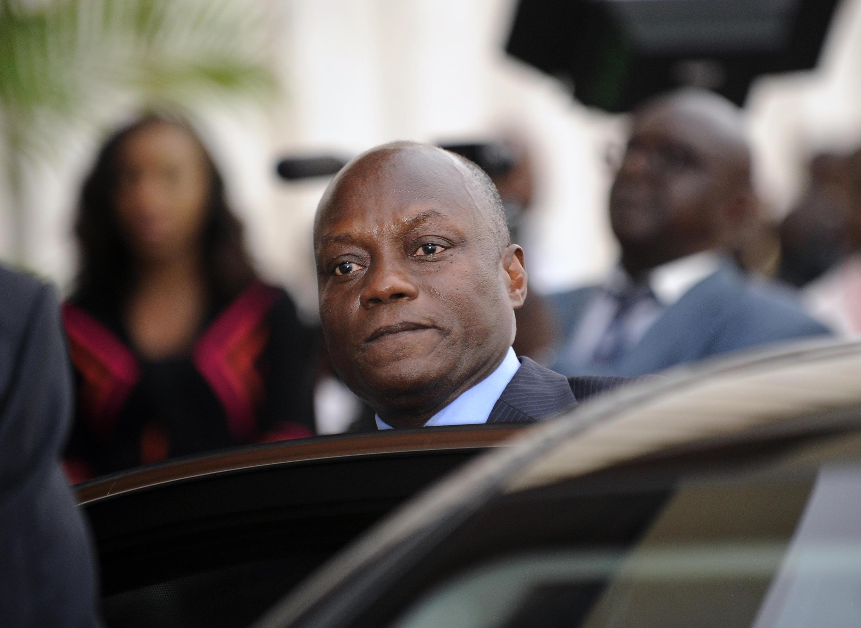 O presidente da Guiné-Bissau, José Mário Vaz. 11 de Junho de 2014.