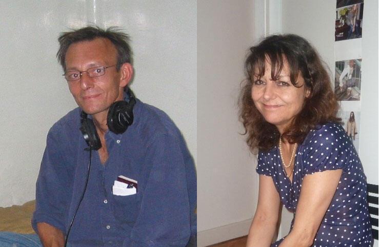 2013年11月2号,法广记者吉斯兰娜•杜邦(Ghislaine Dupont)(右)和技术员克罗德•维尔隆(Claude Verlon)在马里北部遇害