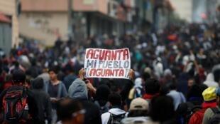 O presidente do Equador, Lenín Moreno, começou a governar de Guayaquil depois de sair de Quito na segunda-feira, pressionado pelos protestos indígenas que ele vinculou a um plano apoiado pela Venezuela para tentar derrubá-lo.
