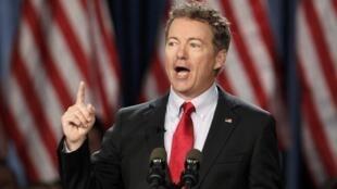 Rand Paul concorre à vaga para disputar as eleições presidenciais dos EUA