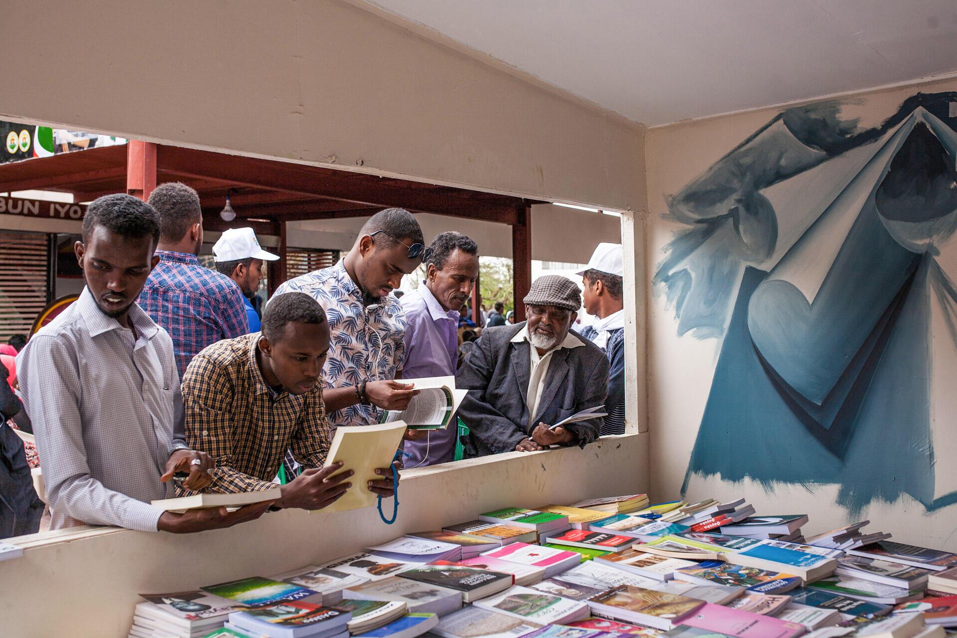 Une échoppe de livres à Hargeisa au Somaliland. (Image d'illustration)