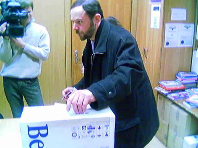 Владимир Кара-Мурза-старший. Изображение 2005 г.