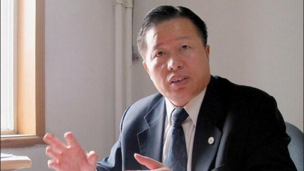 中國著名維權律師高智晟舊照